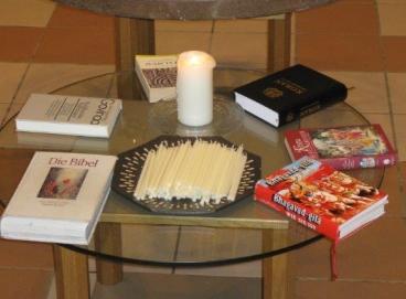 Buch mit religiösen Schriften