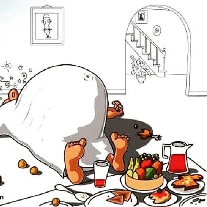 Bitte nicht maßlos sein beim Fastenbrechen!